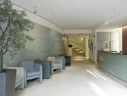 Serviced offices Central London Floral Street reception