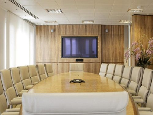 Serviced offices Central London Floral Street board room