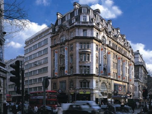 Serviced offices Central London Kingsway exterior