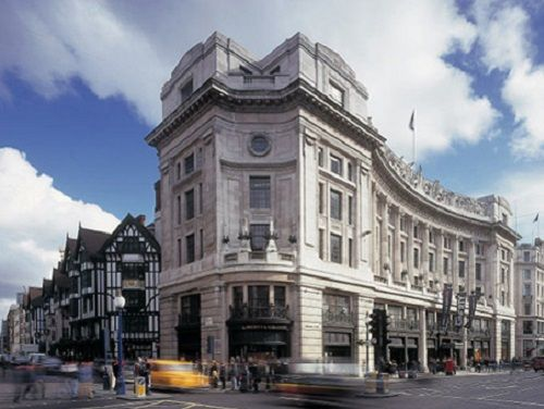 Managed office space London Regent Street exterior