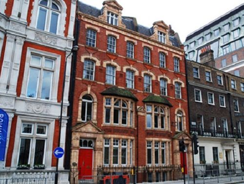Managed office space London Bloomsbury Square exterior
