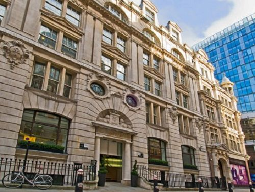 rent an office London New Broad Street exterior