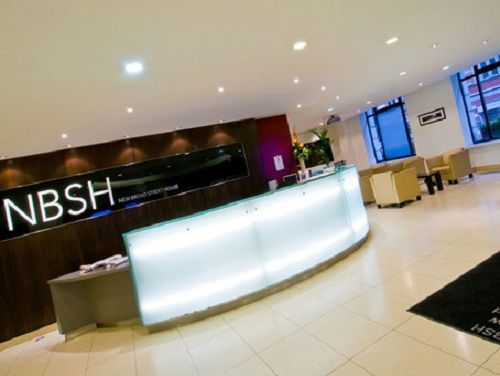 Rent an office London New Broad Street reception