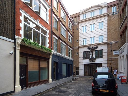 Serviced offices Central London Carlisle Street exterior