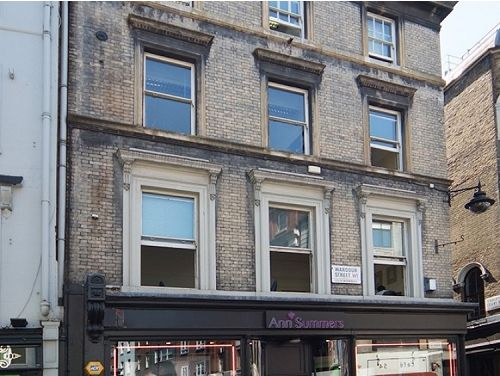 Managed office space London Wardour Street exterior