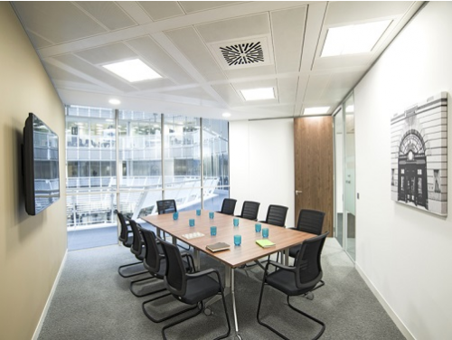 Offices to lease London Broadgate Circle Board Room