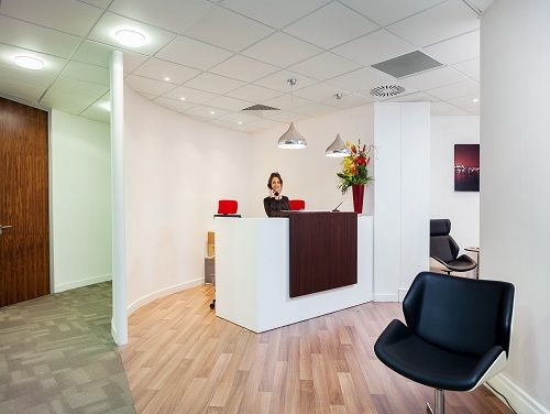 Offices to lease London Reception