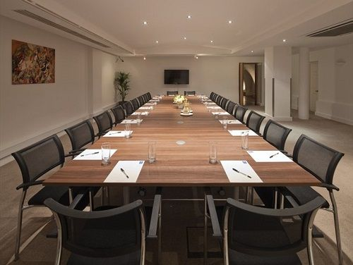 London office building Adam Street Board Room