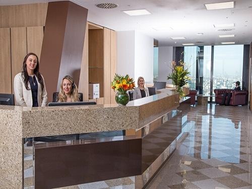 Flexible office space London Leadenhall - Reception
