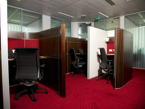 Flexible office space London Dashwood - Booths