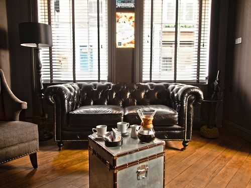 Flexible office space London Soho - Reception Area