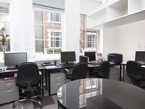 Flexible office space London Soho