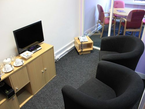 Flexible office space London G.O.D Village - Break Out Area