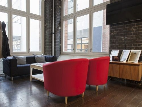 office space Central London Seating Area