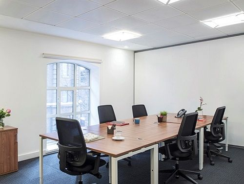 Managed office space London meeting room
