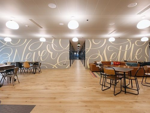 London serviced co-working space break out area