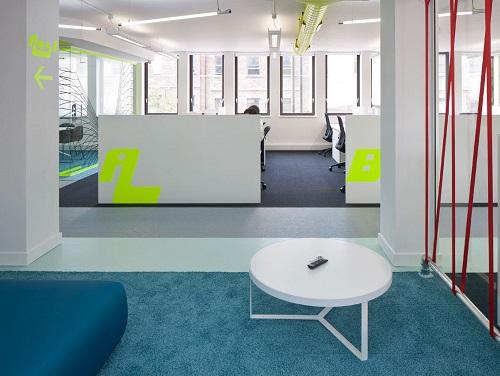 office space London break out area
