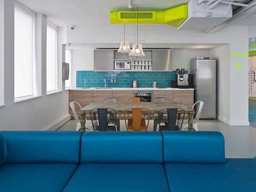 office space London kitchen