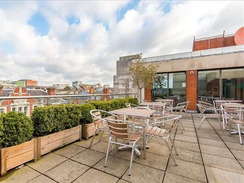 London offices to rent Long Acre roof terrace
