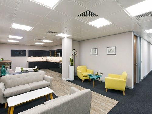 Executive offices London Break Out Area