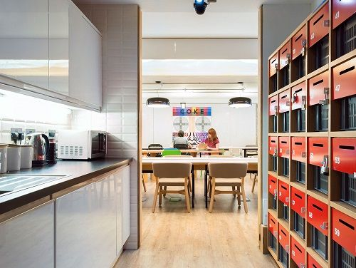 Serviced offices London Kitchen
