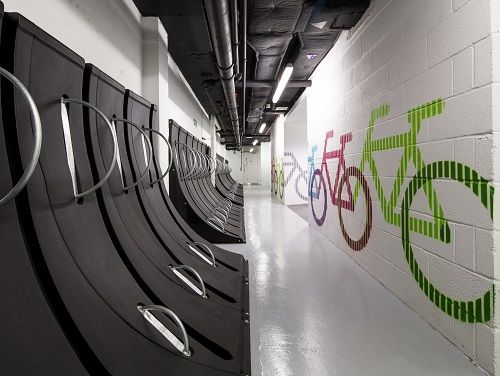 Office for rent London Cycle Parking