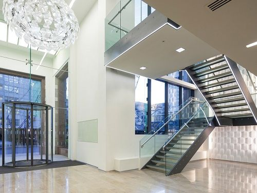 Office space for rent London Entrance