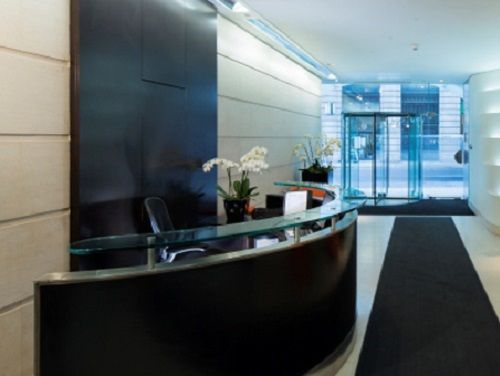 Office rental London reception