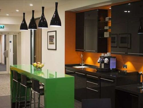 Office rental London kitchen