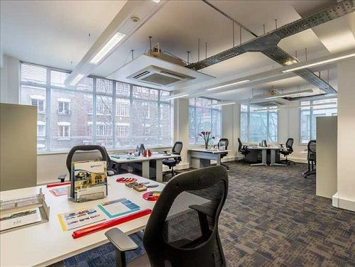 Office space Central London open plan floor