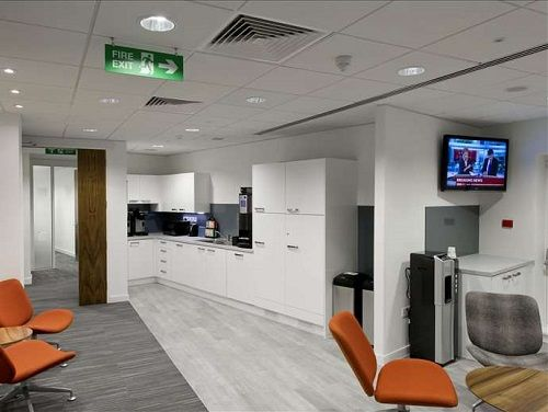 Office space Central London Kitchen