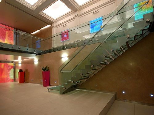 Office space Central London Entrance