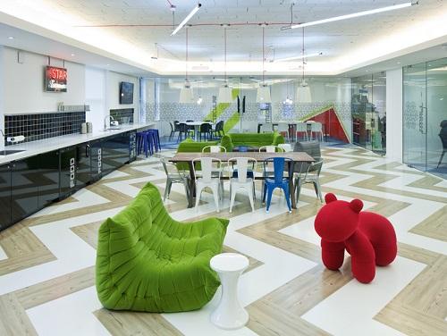 Office space to rent London Break Area