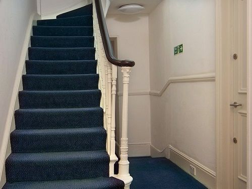 Managed office space London staircase