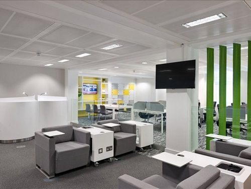 Office space to rent London Break Area