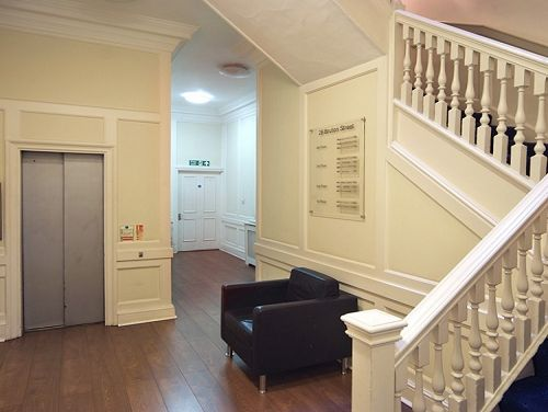 Office space to rent London Entrance