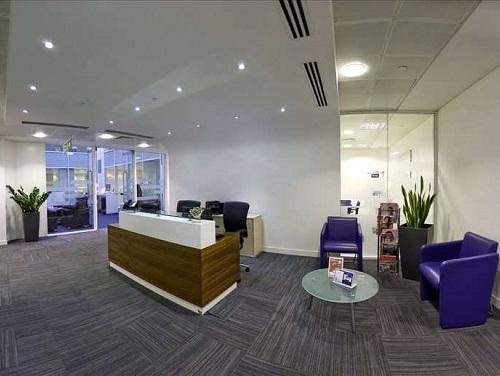 Office space rental London Reception