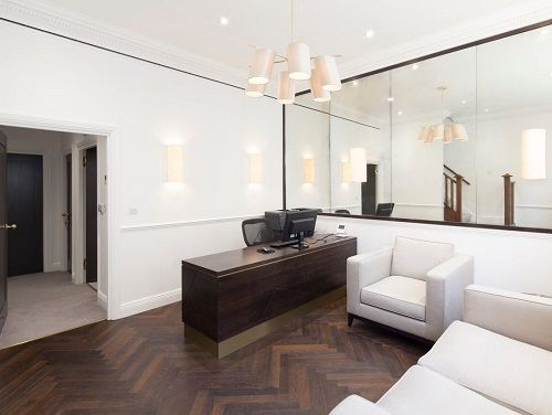 Office space rental London Reception