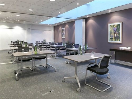 Managed office space London conference room