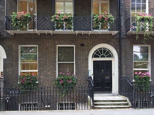 Serviced offices Central London exterior