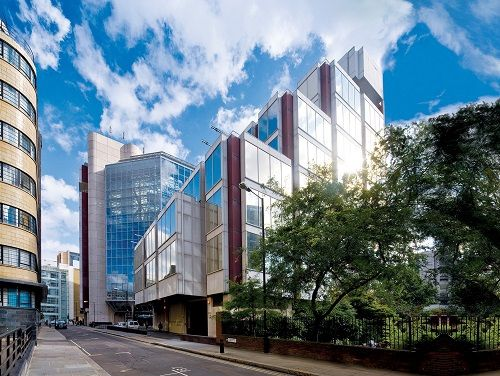 Central London offices Exterior