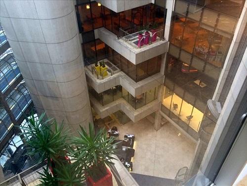 Central London offices Atrium