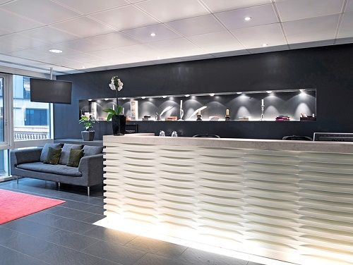 London serviced office space reception