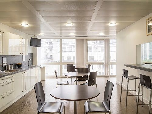 London serviced office space Kitchen