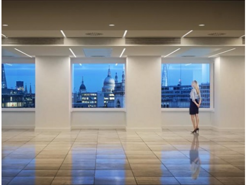 Office rental in London Office Floor Views