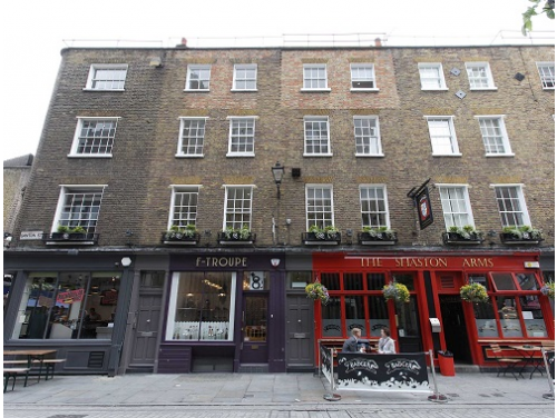 Office rental in London Exterior