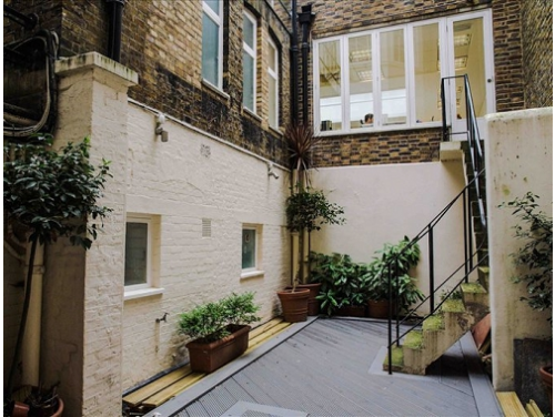 Serviced offices in London Outdoor Area