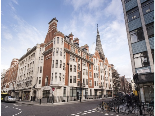 Office for rent in London Exterior