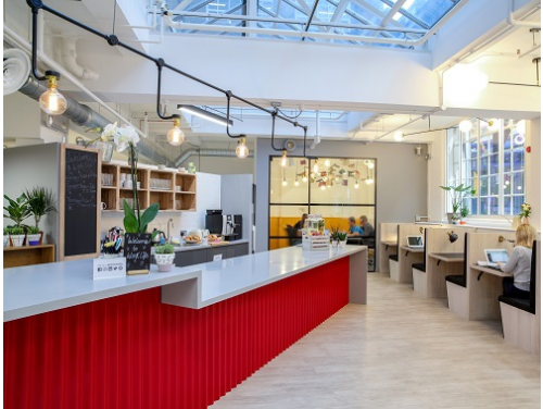 Offices to rent Central London Interior