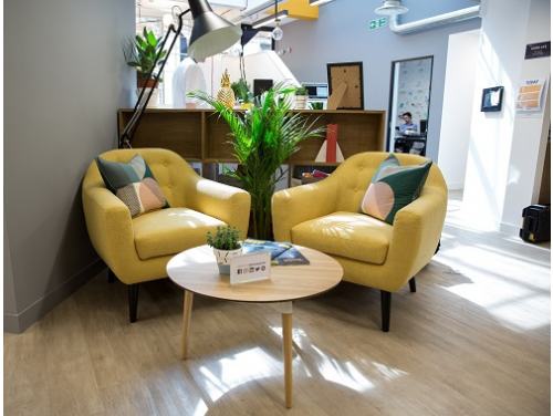 Offices to rent Central London Lounge Area